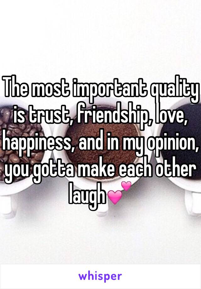 why is trust important in a friendship