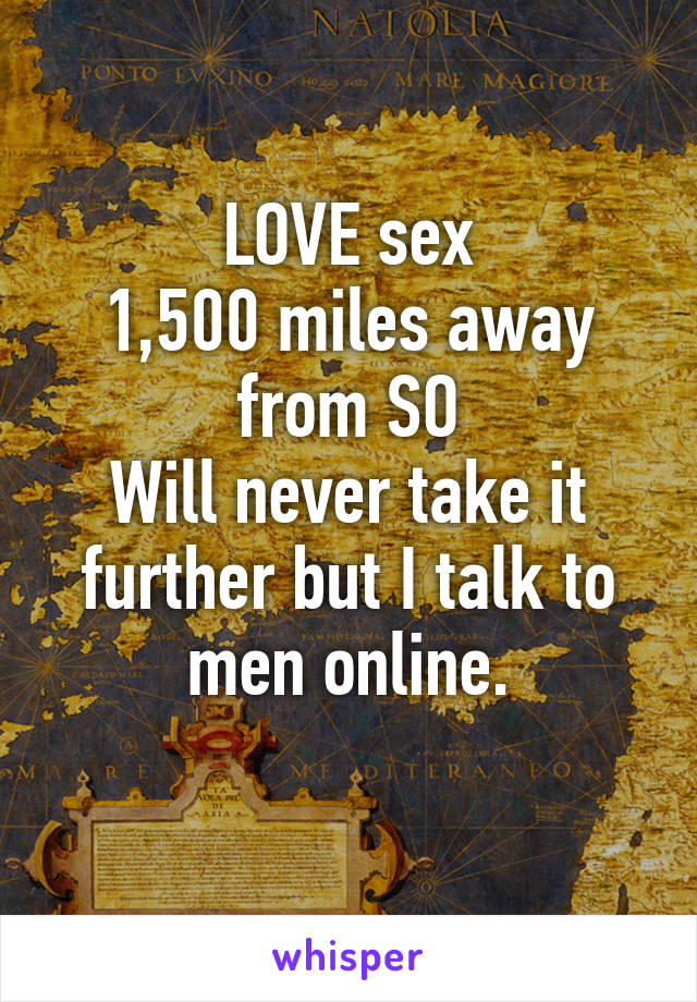 Talk to men online