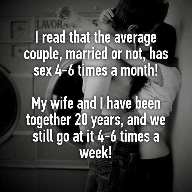 Average sex for a married couple