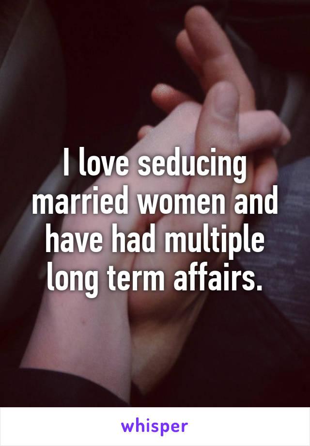 Long term affairs real love