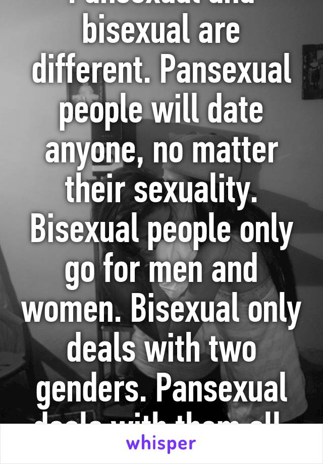 Pansexual men