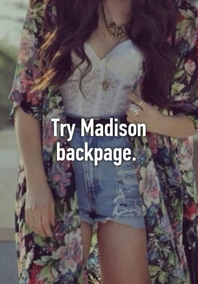 madison backpage
