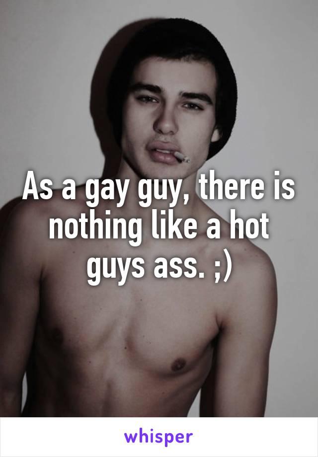 Hot male ass