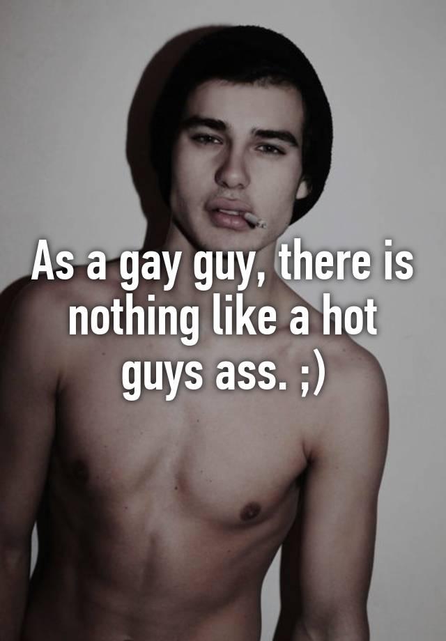 Hot gay ass