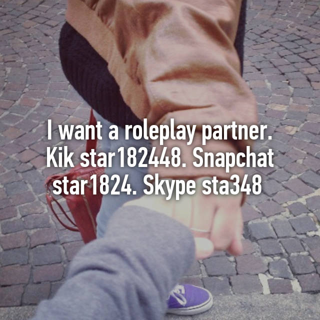 Kik roleplay partners