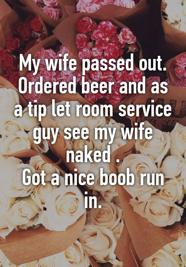 Wife ordered naked