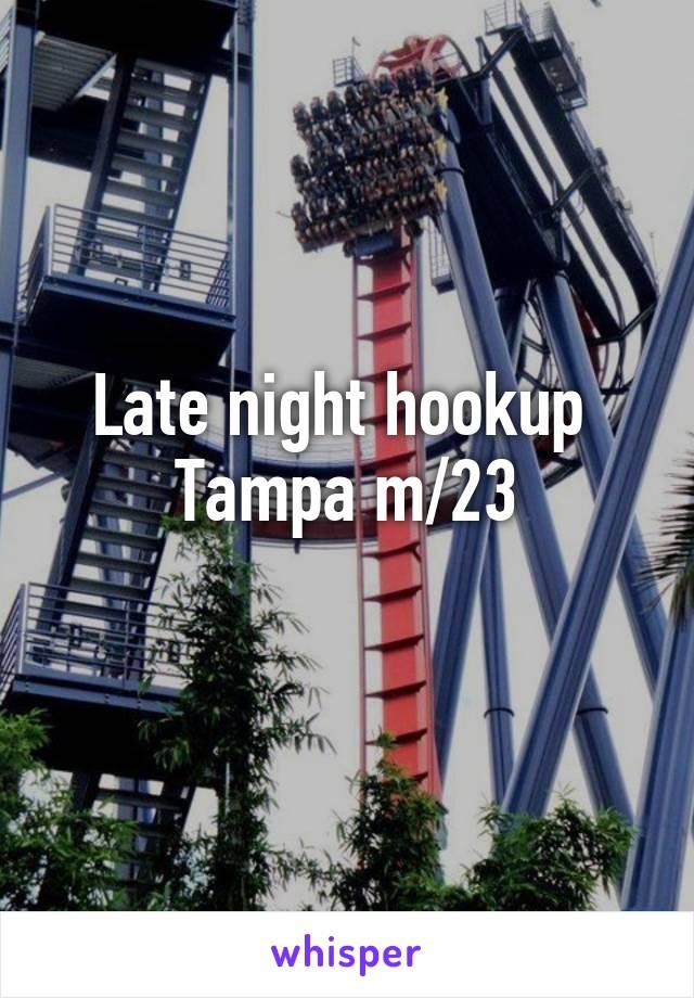 Hook up tampa