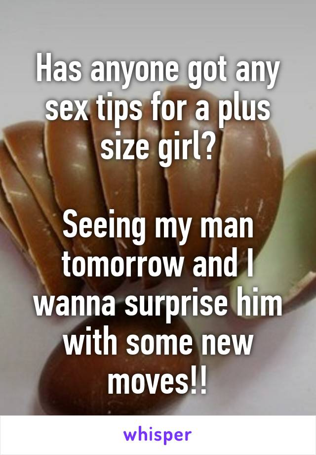 Sex tips for my man
