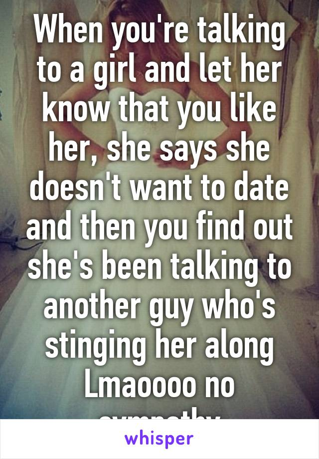 the girl i like dating another guy