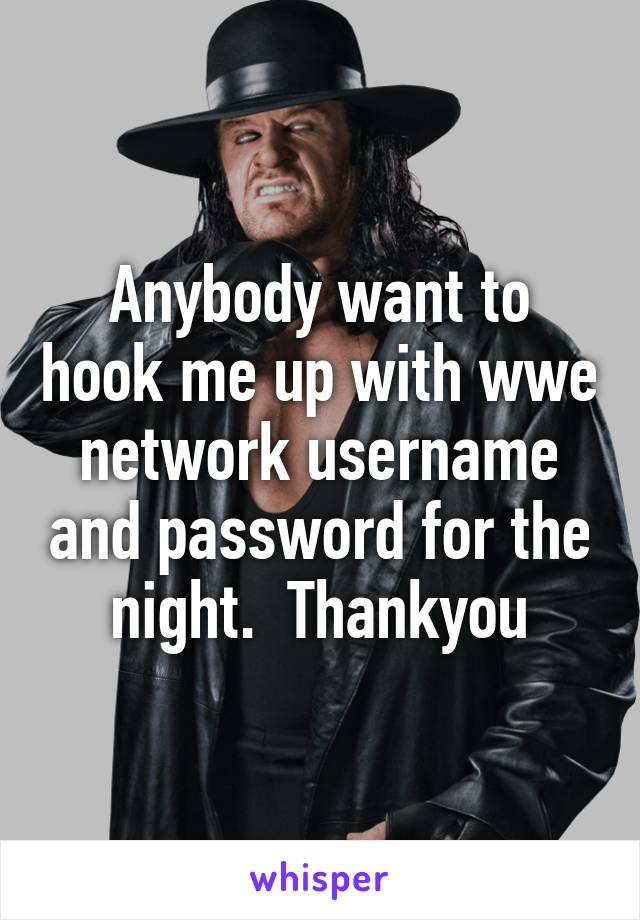 How do i hook up wwe network