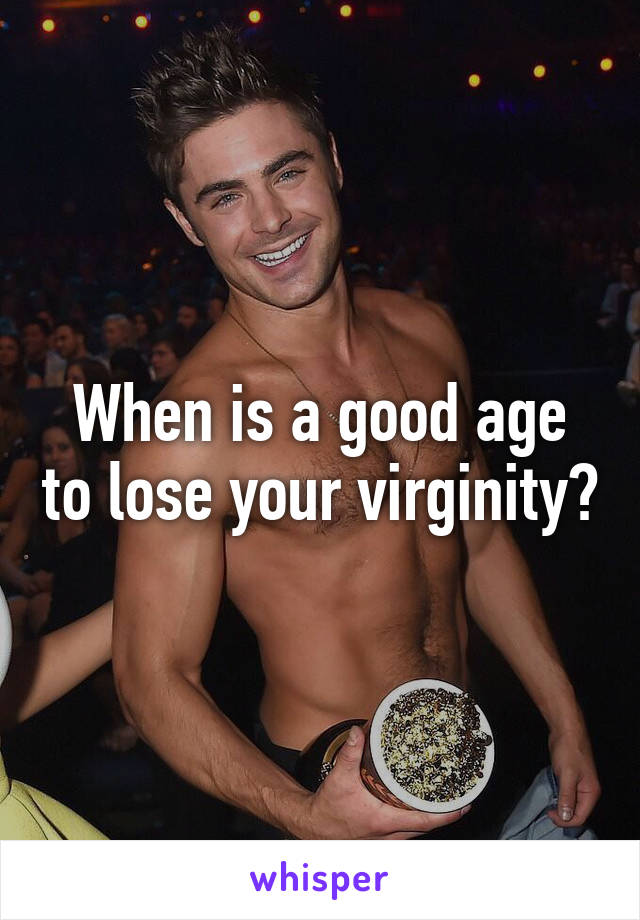 Losing your virginity for boys