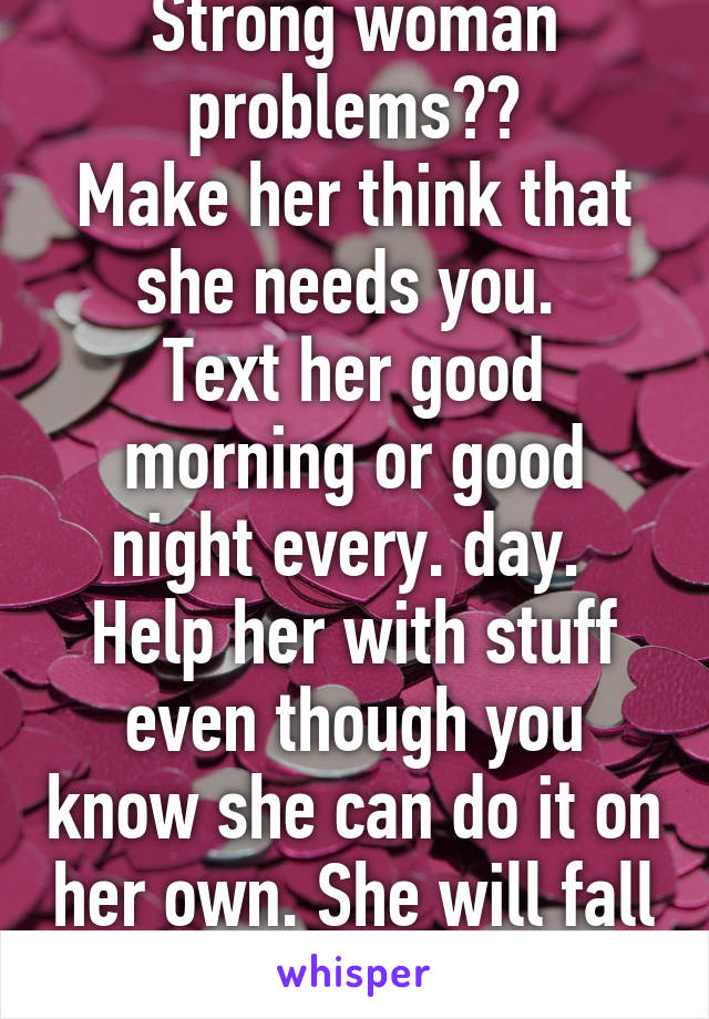 how to make her think about you through text