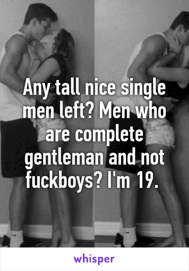 nice single men