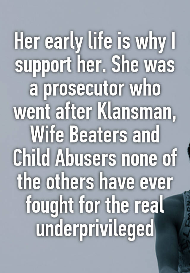 why be a prosecutor