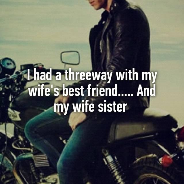 Three Way With My Wife
