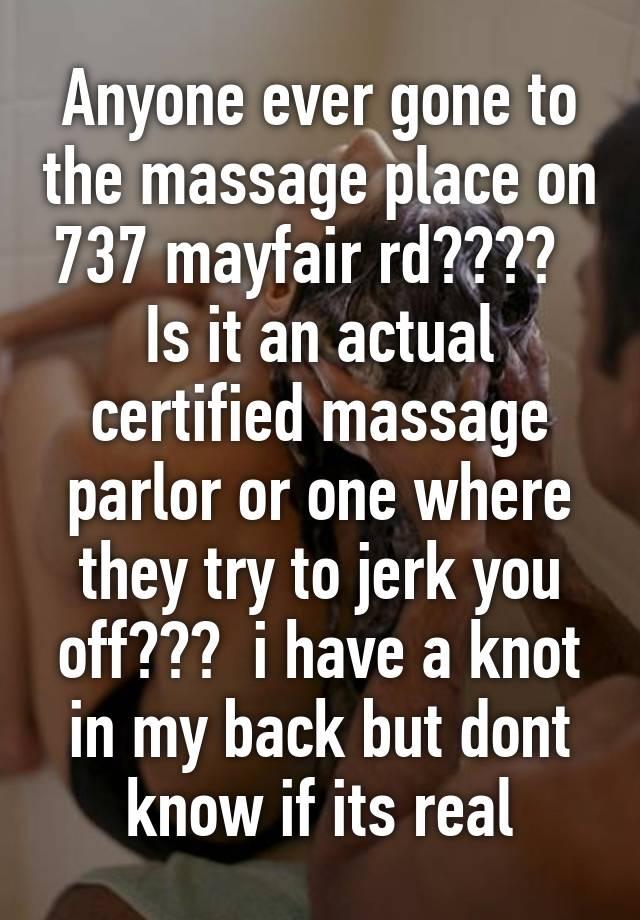 Massage that jerk you off