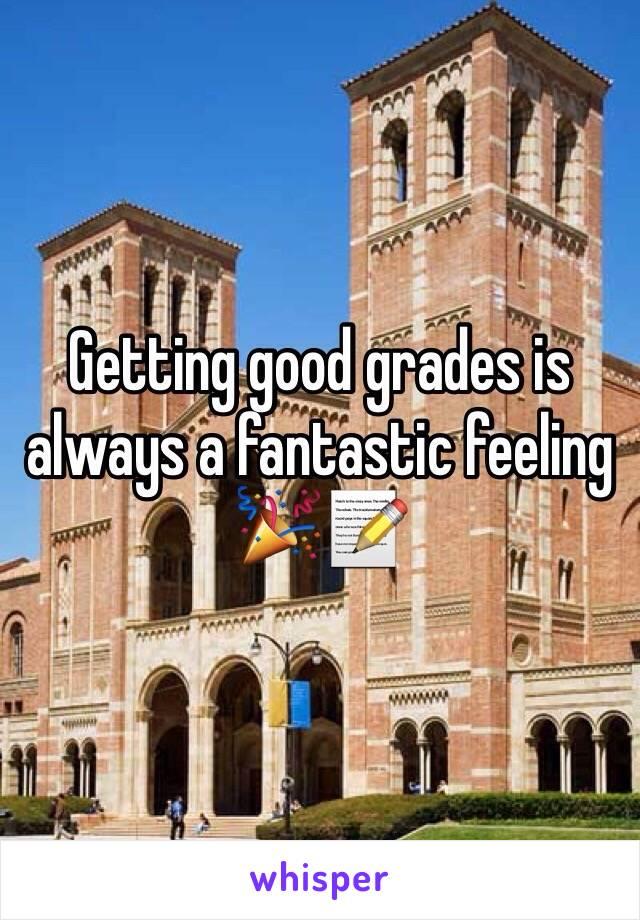 Getting good grades is always a fantastic feeling 🎉📝