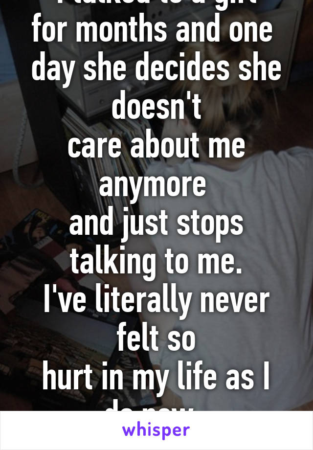 Doesnt anymore she when care Why Do