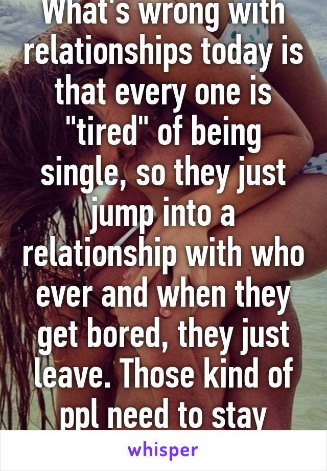 being bored in a relationship