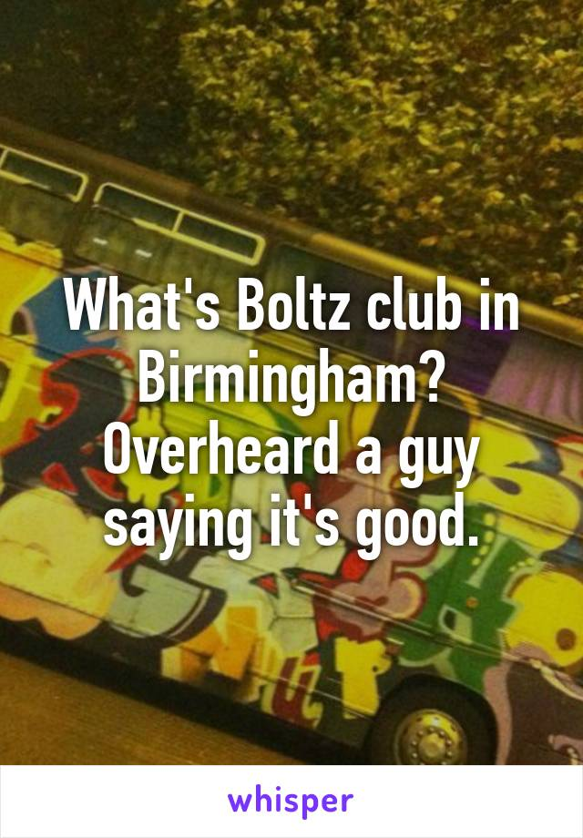 Boltz club