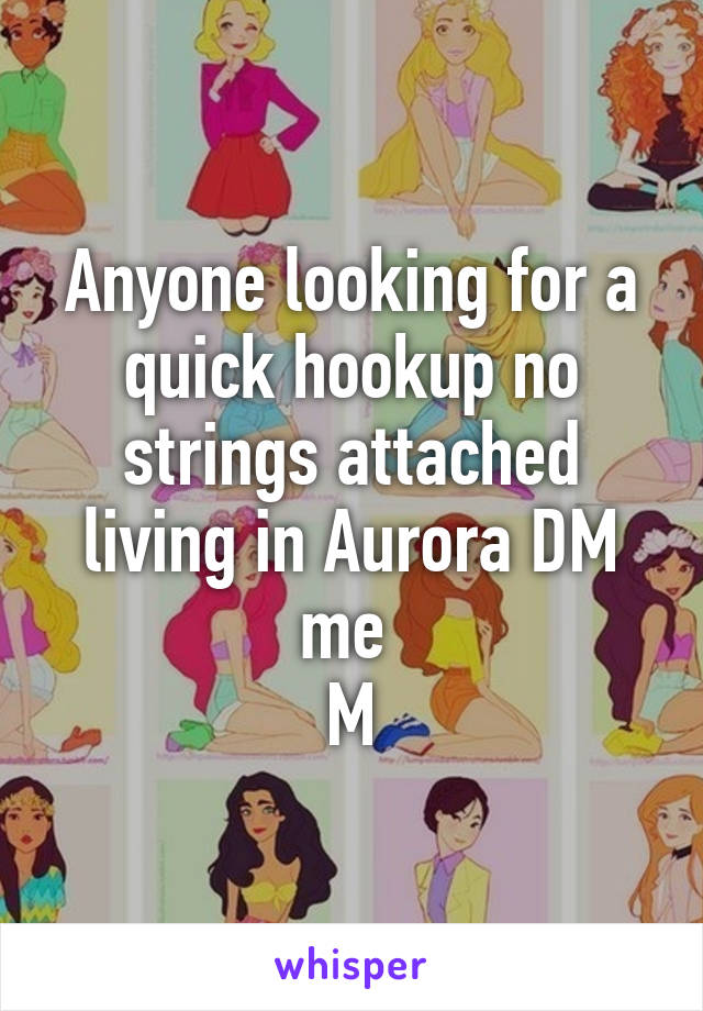 no strings hook up