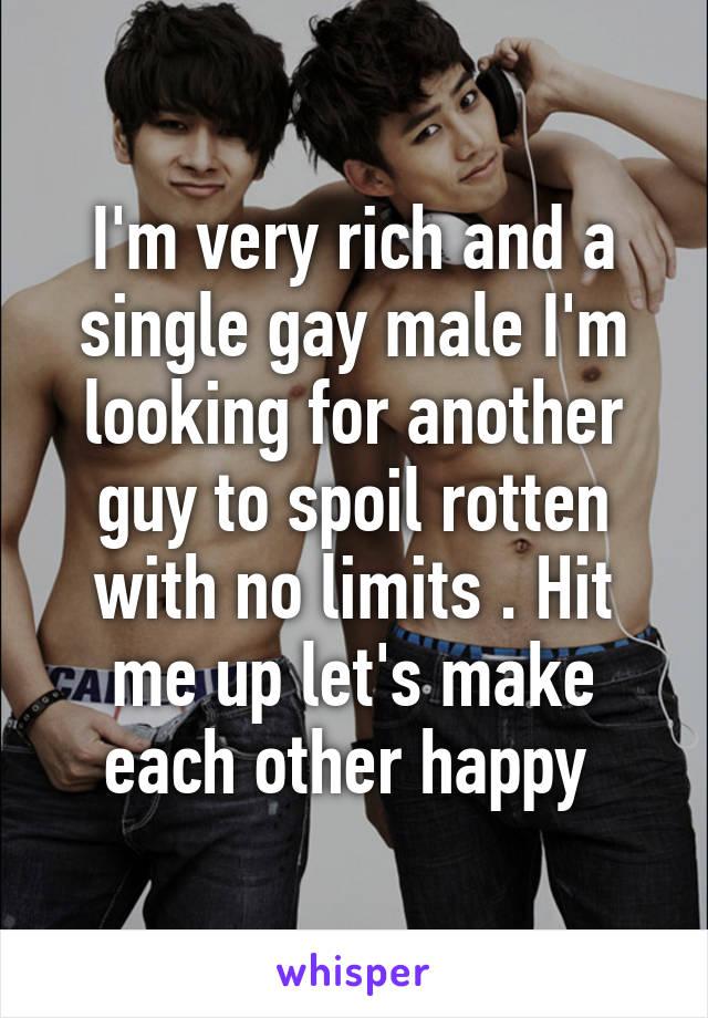 Sorry, that rich single gay men does plan?