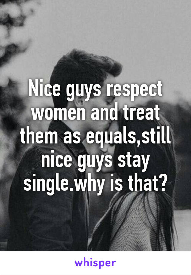 Single Guys Why Stay Looking Good Do