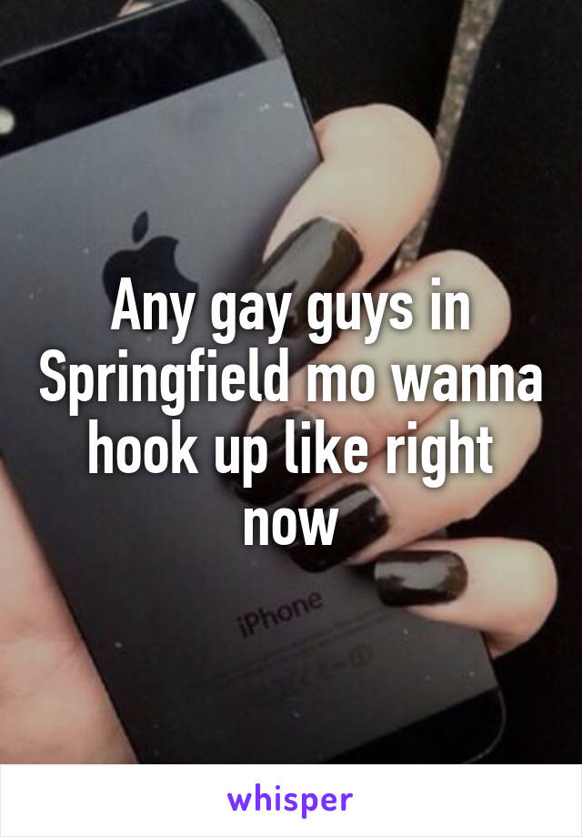 I want to hookup right now