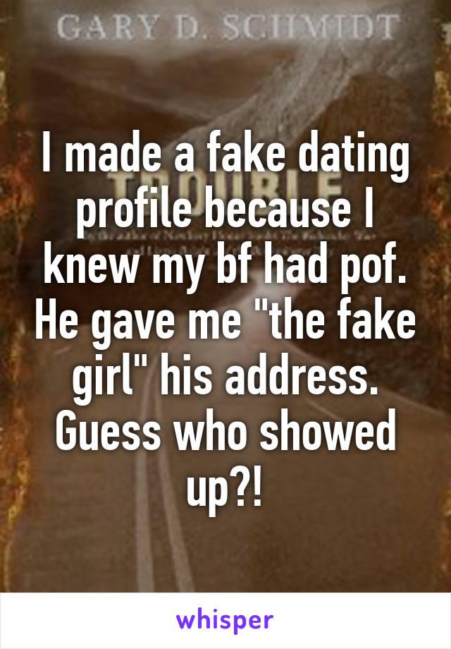 Schmidt Dating Profile