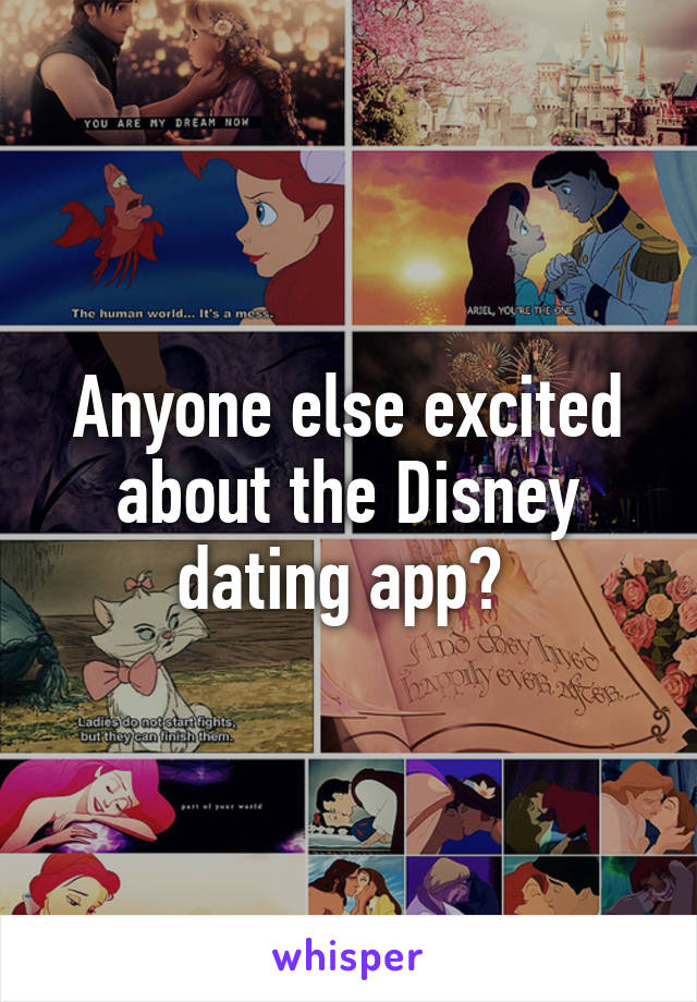 Disneyland dating app