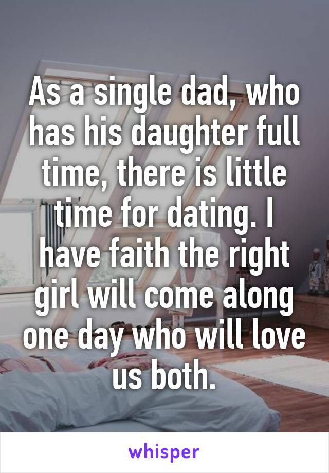 Dating single dads daughters