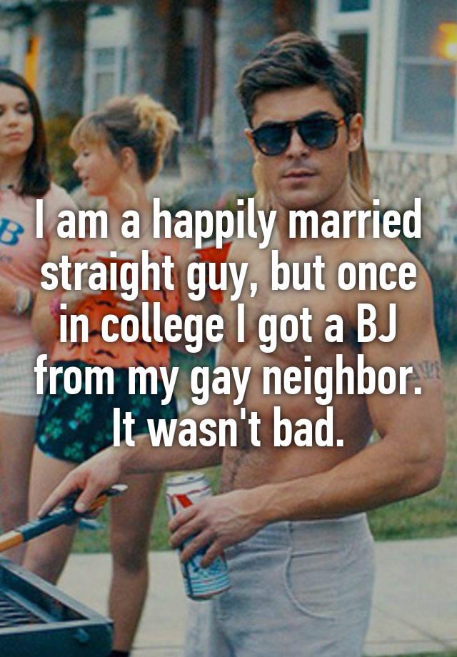 Straight guy bj