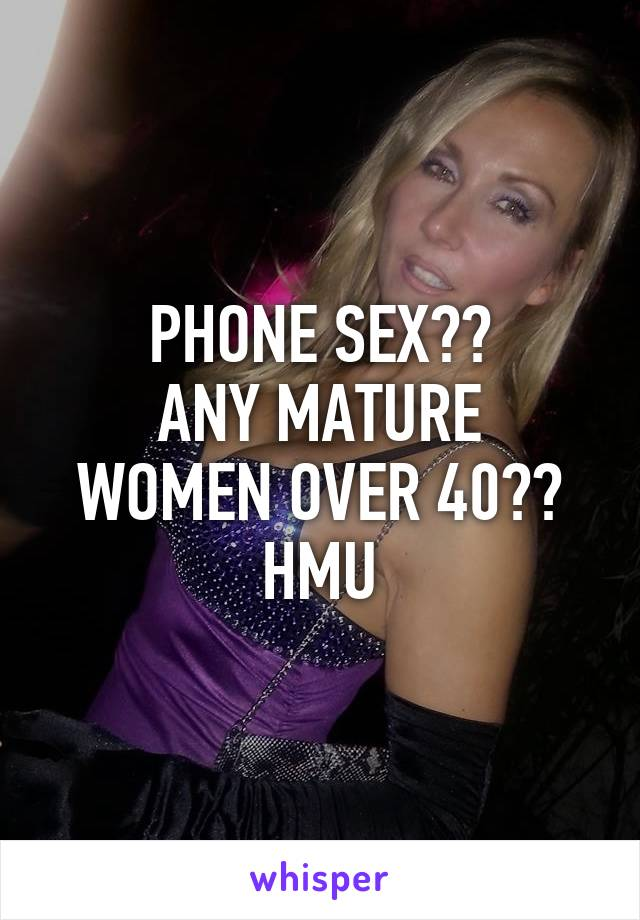 Try all women over 40 mature that