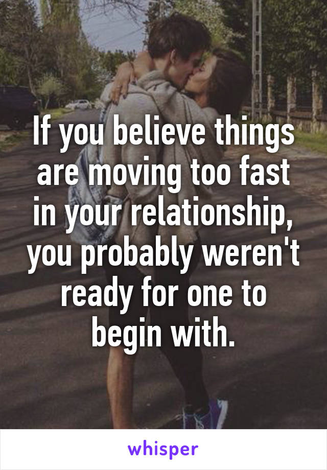 Moving on too fast from relationship to relationship