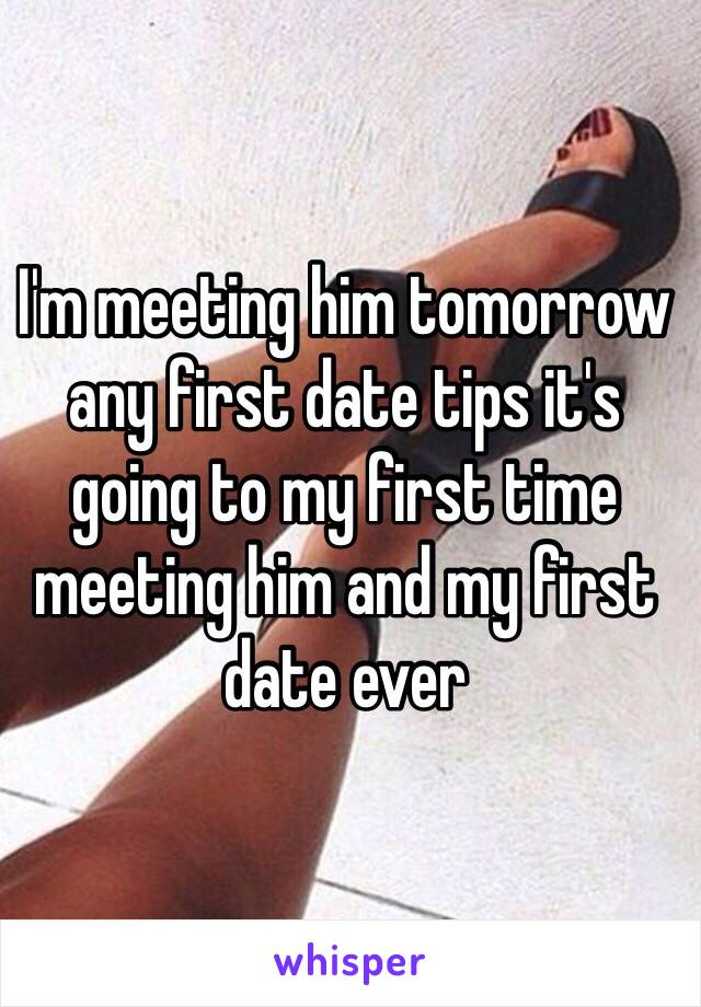 dating first meeting tips