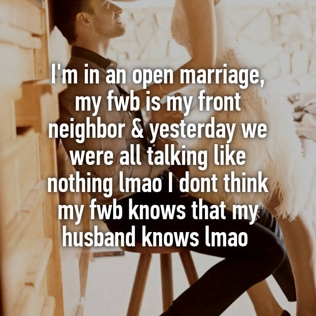 what is an open marriage like