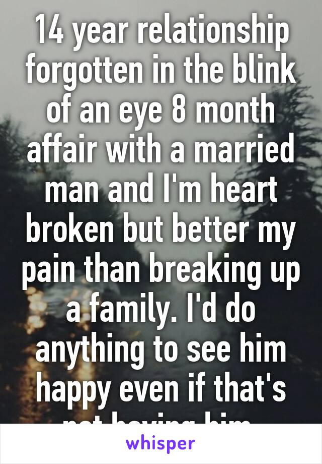 relationship with a married man why break it