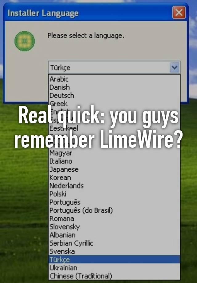 limewire italiano