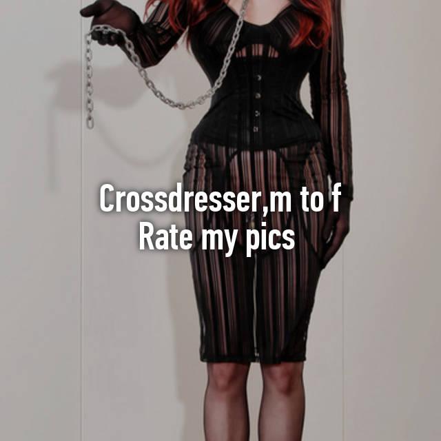 Rate my crossdresser