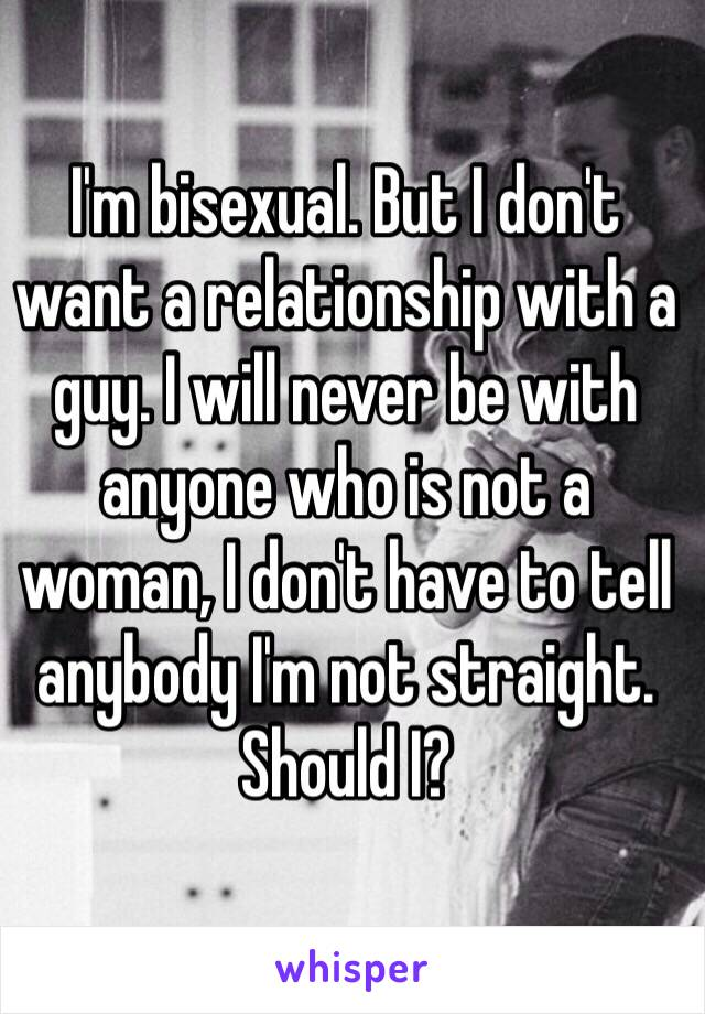 Indeed relationship with bisexual woman what phrase