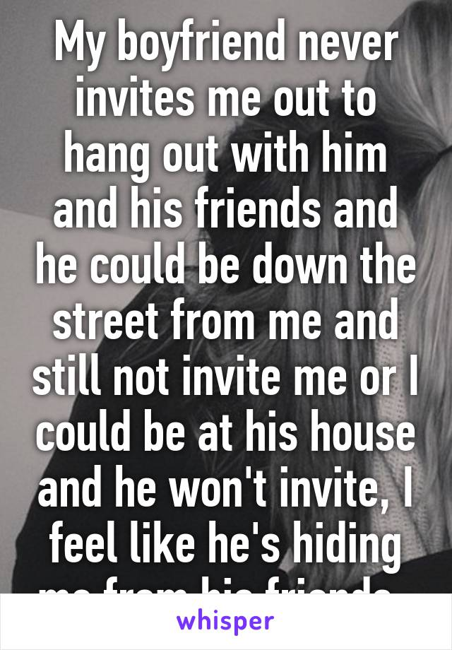 When A Guy Invites You Over To His Place