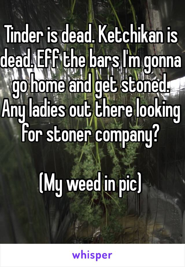 tinder for stoners