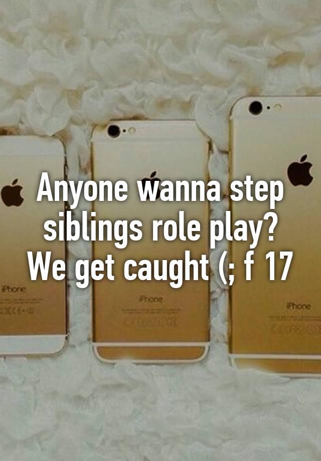Step siblings get caught