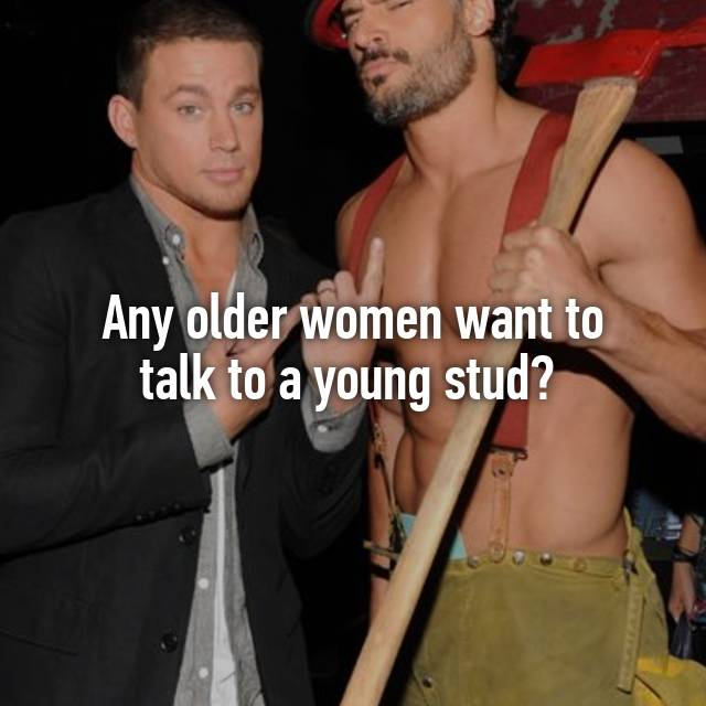 woman stud Older young