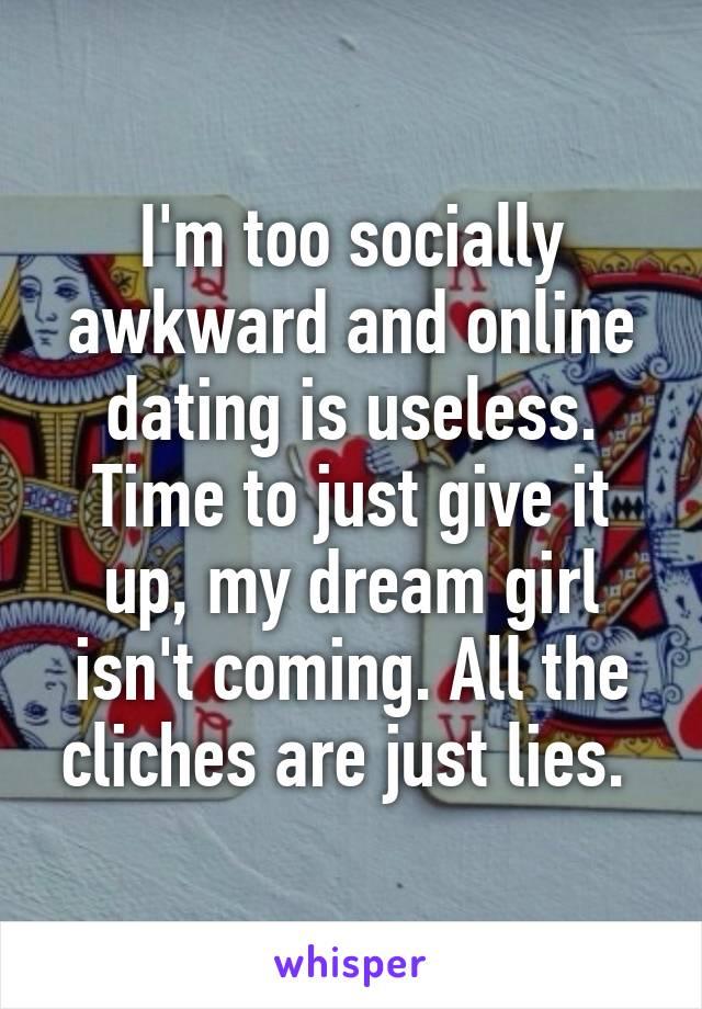 online dating useless