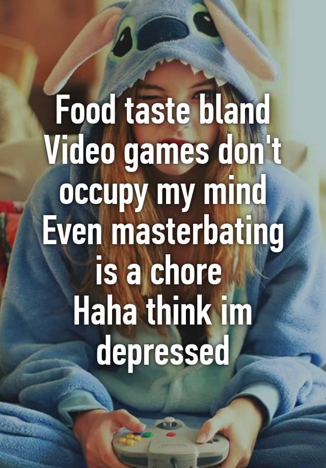 Masterbaiting games