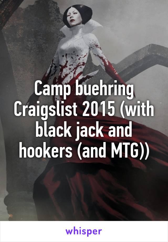 Camp buehring craigslist