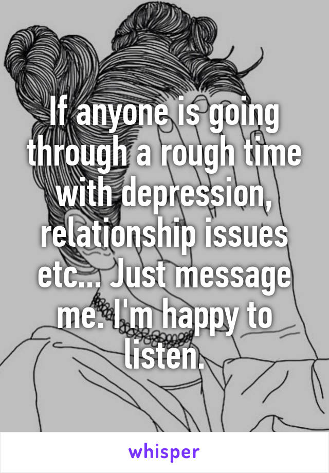 depression relationship issues