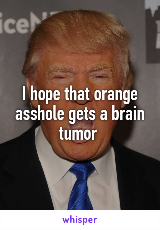 Orange in asshole