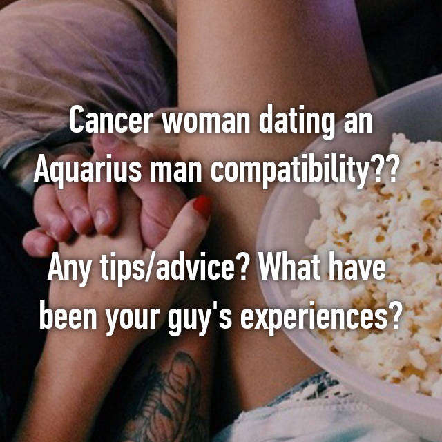 Aquarius dating advice #15